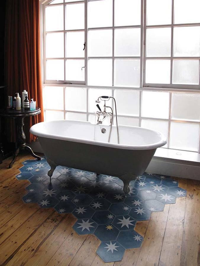 Baño privado en dormitorio