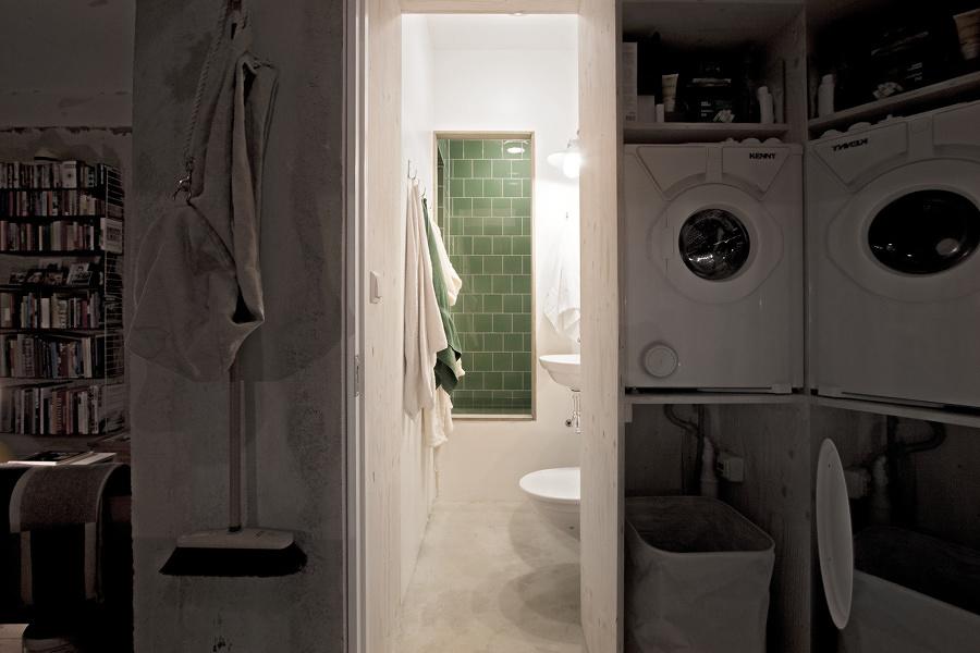 Mini baño en departamento