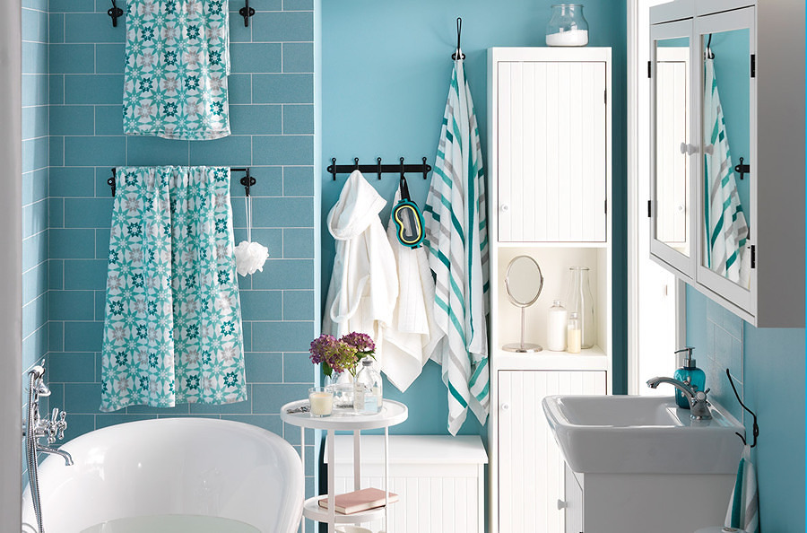 Baño con color