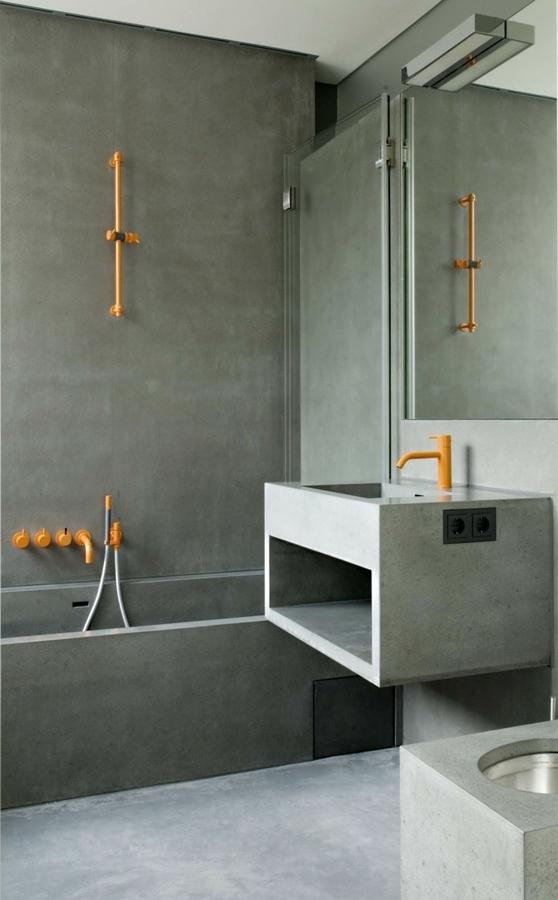 Baño íntegro microcemento