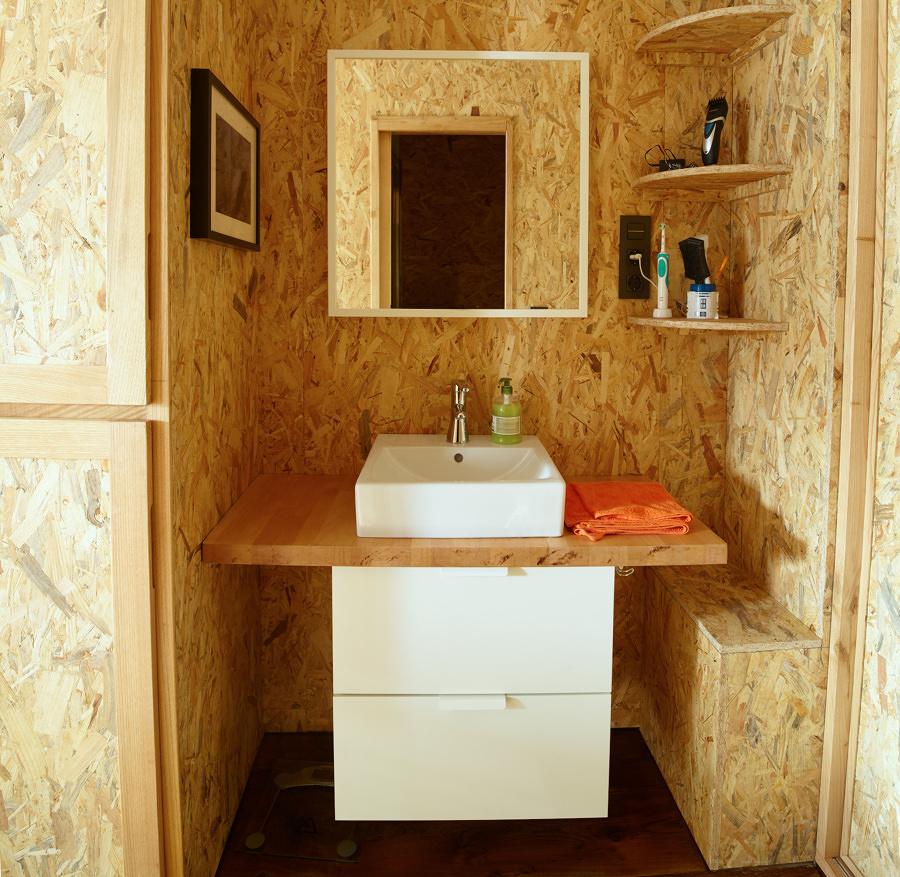 Foto: Baño con Revestimientos OSB #205532 - Habitissimo