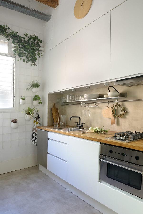 Barra en cocina
