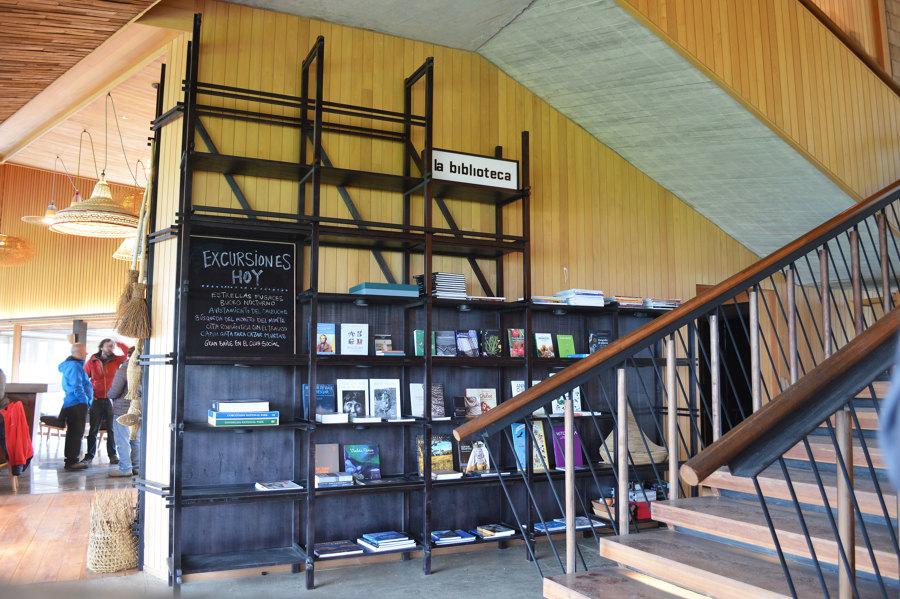 Biblioteca desarrollado para Hotel Tierra Chiloé