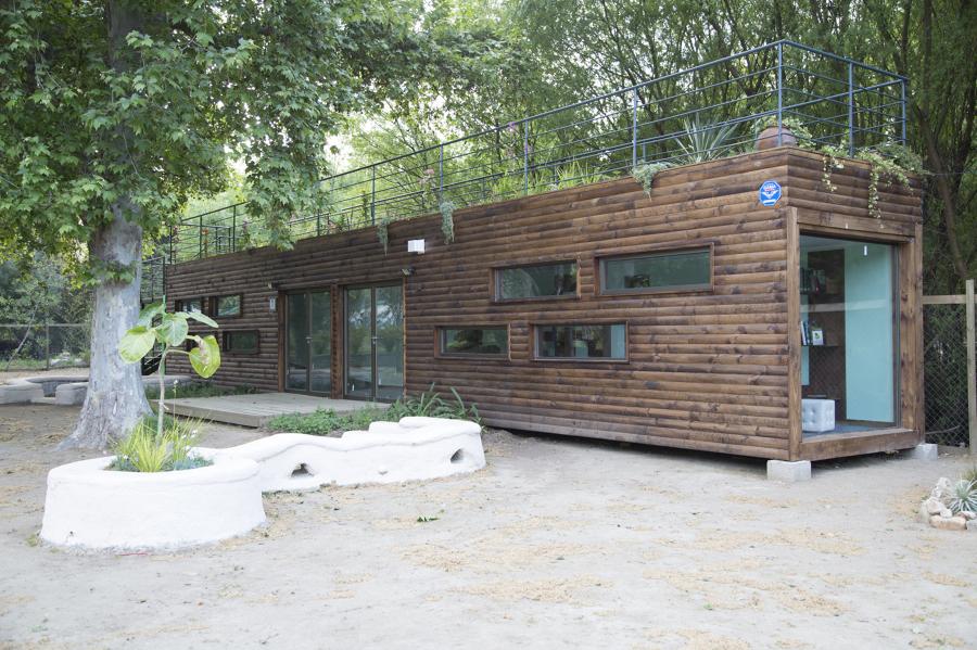Biblioteca infantil del Medio Ambiente_Jardín Botánico Viña del Mar