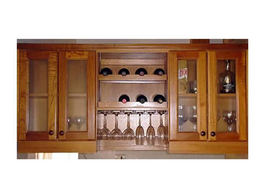 Muebles de cocina a medida ideas remodelaci n cocina - Mueble botellero cocina ...