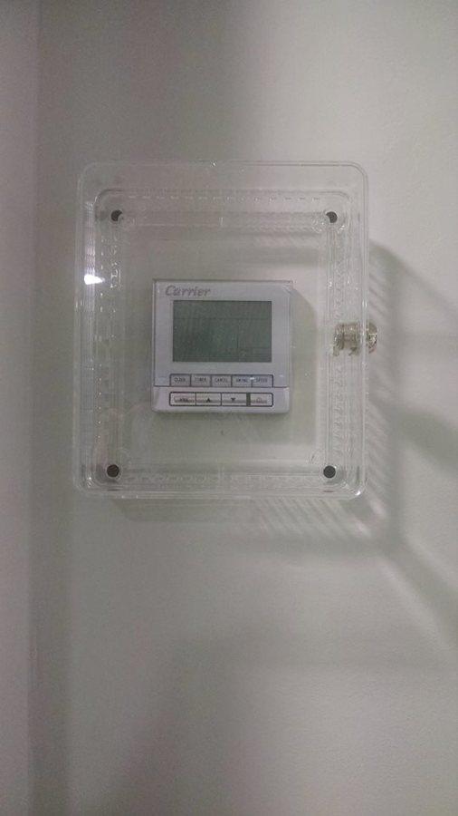 Caja cubre termostato