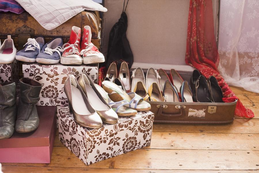 Cajas para guardar zapatos