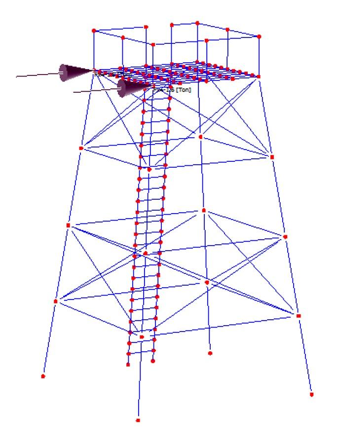 Cálculo de estructura metálica y estanque de AP.