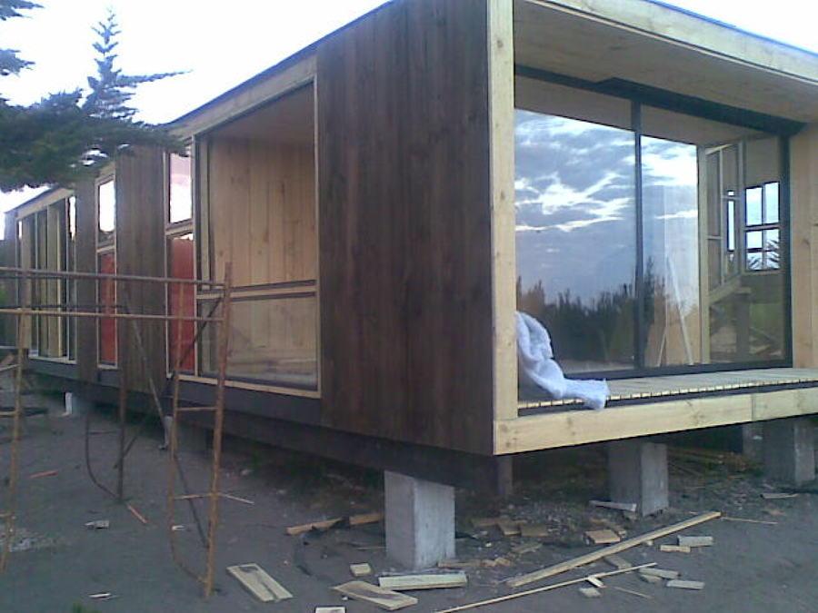 Dise o y construcci n de casas para playa campo y ciudad for Construccion casas de campo