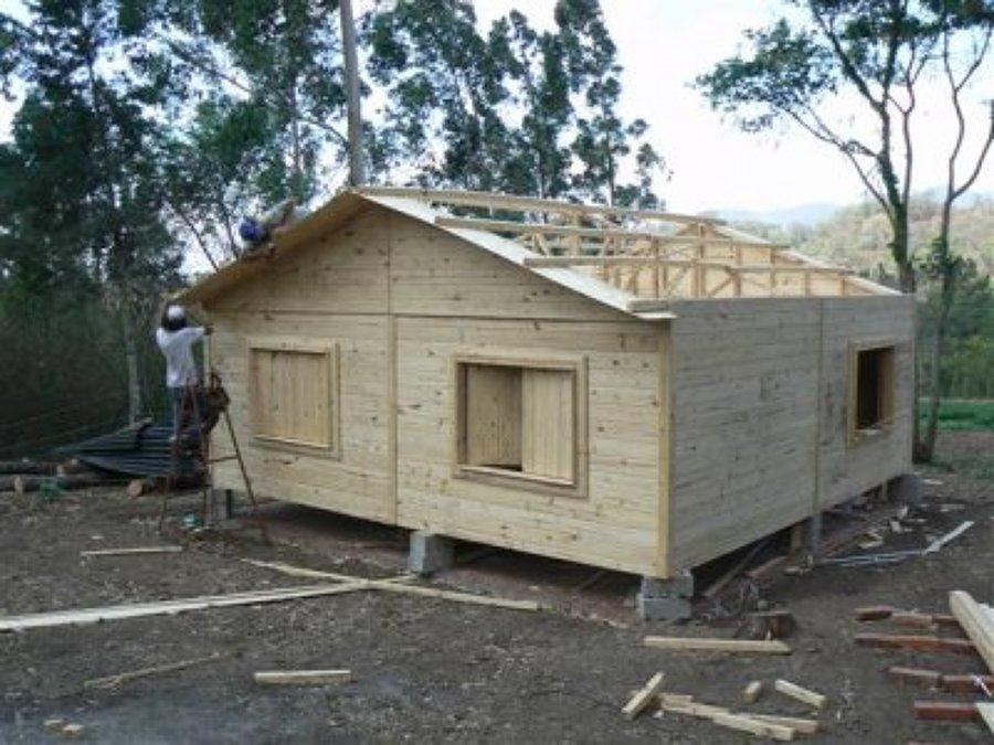 Construcciones de casas prefabricadas ideas construcci n - Construcciones de casas de madera ...