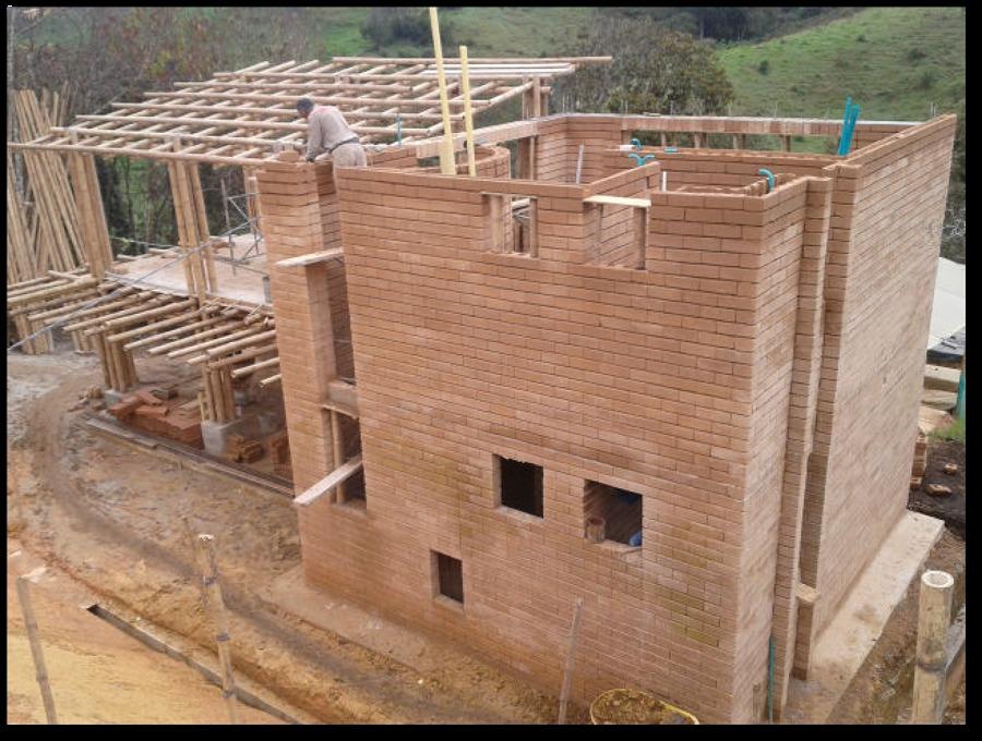 Construcci n en bloque de adobe ideas construcci n casa for Nivelar piso de tierra