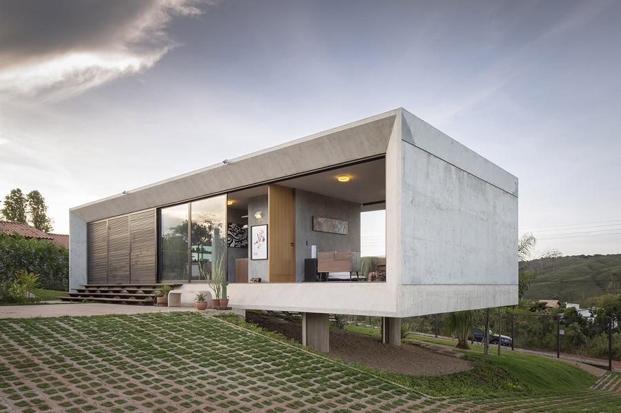 Casa de hormigón en Brasil