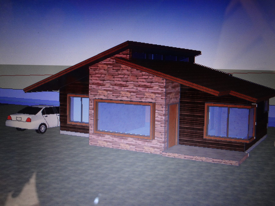 Casa estilo caba as ideas construcci n casa - Cabanas modernas ...