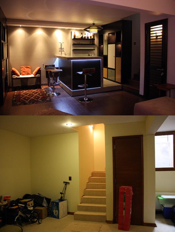 Foto casa lecannelier remodelaci n interior de raffo for Remodelacion de casas pequenas fotos