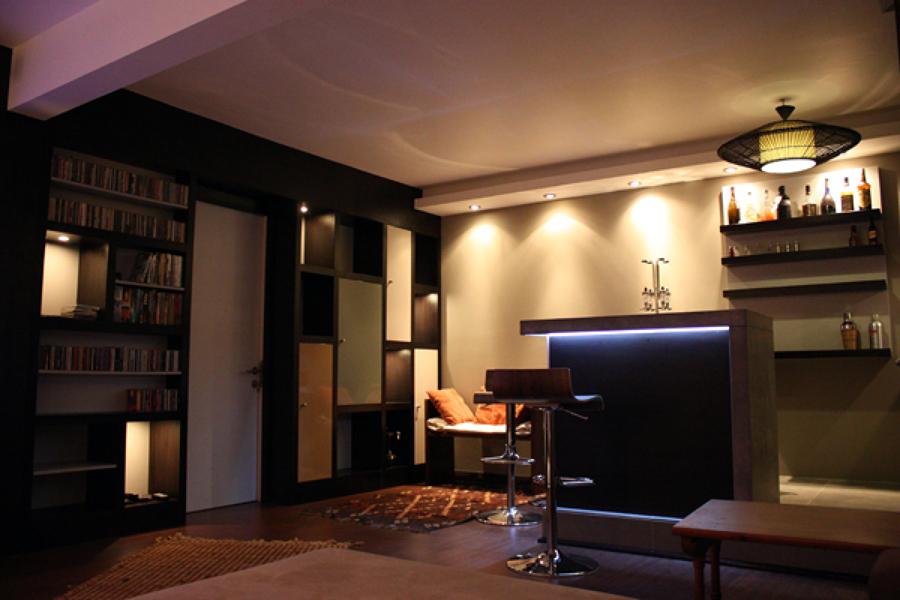 Foto casa lecannelier remodelaci n interior de raffo for Remodelacion de casas interiores
