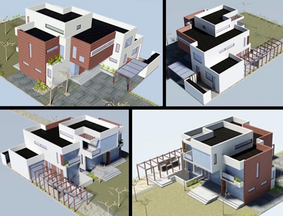 Casa Marmentini: construcción nueva.