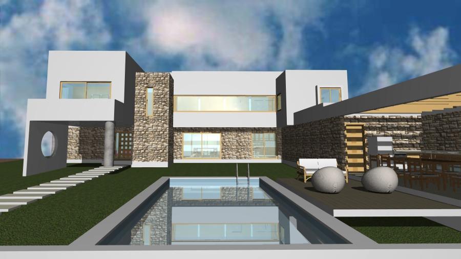 Construir una casa de estilo mediterraneo ideas for Casa moderna mediterranea