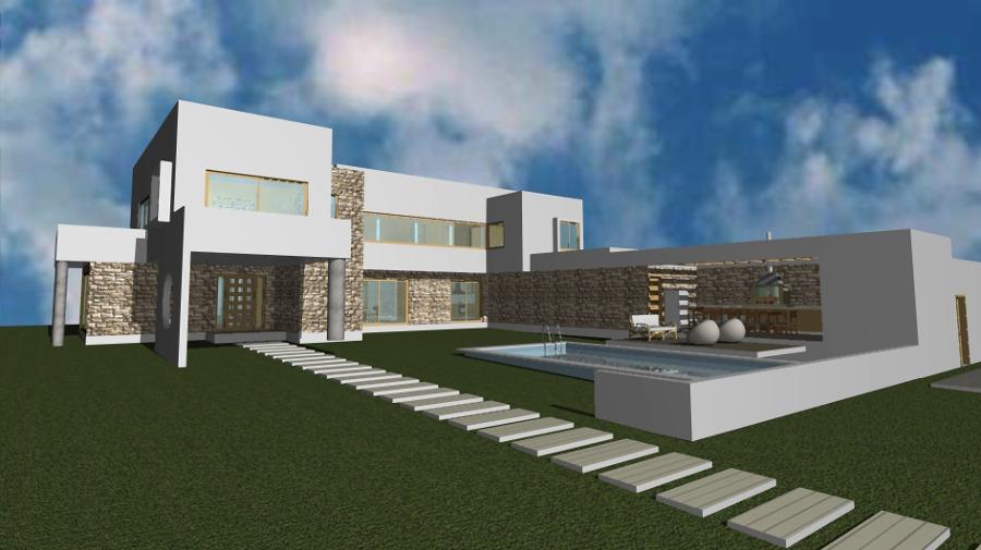 Casa Mediterranea Vista lateral