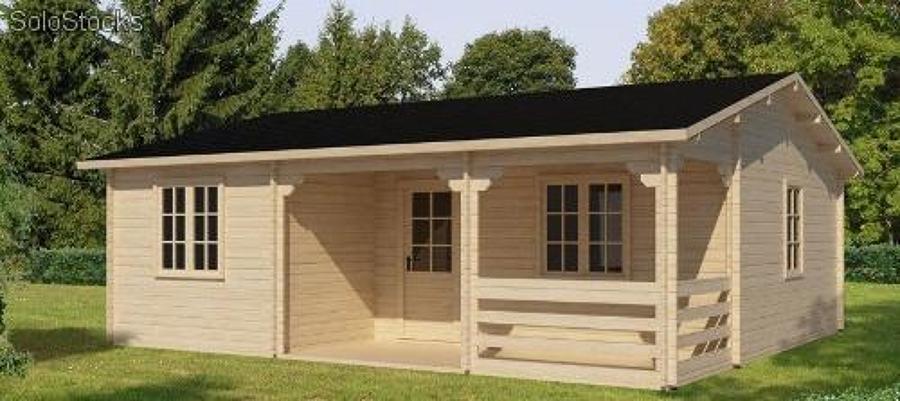 Foto casa retro de casas penco 86593 habitissimo for Casas de campo de madera