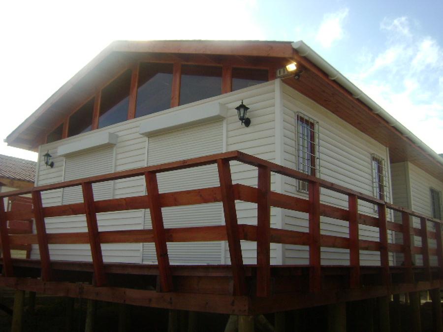 Foto Casa Terminada Con Seading Terrazas Y Protecciones