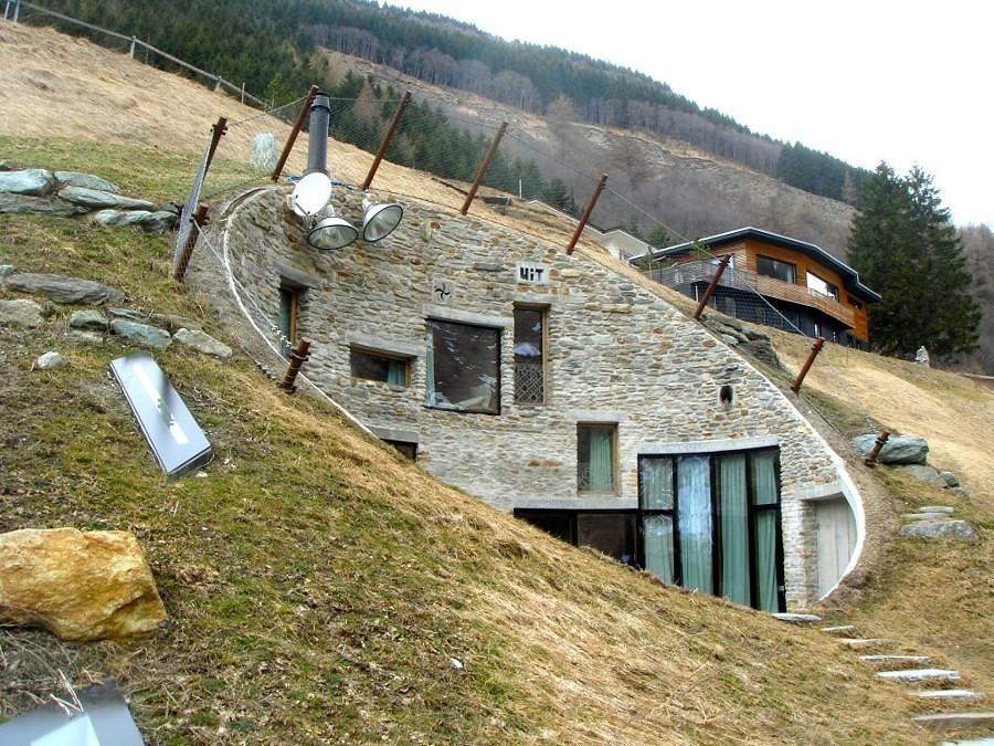 casas bajo tierra