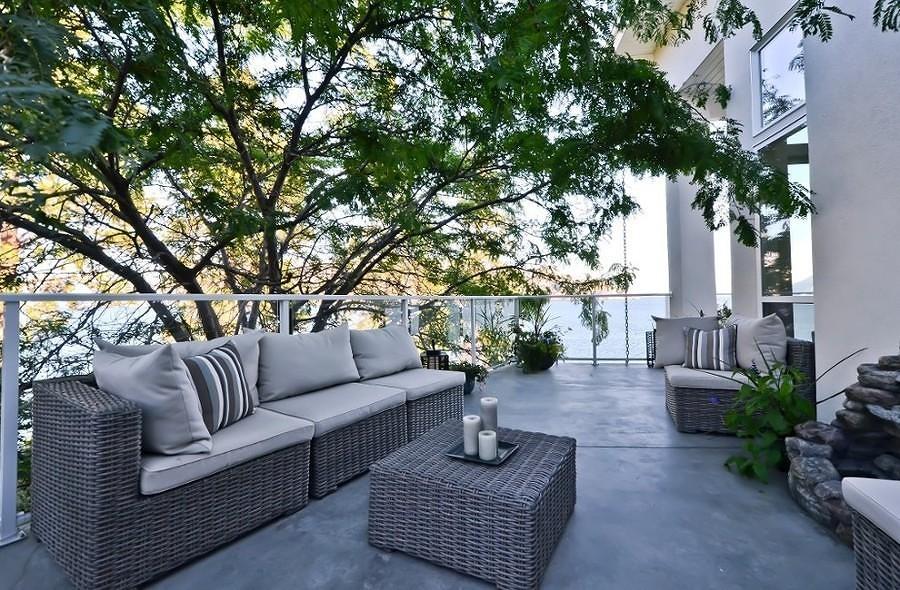 Foto cemento pulido terraza 147811 habitissimo - Suelo de microcemento pulido ...