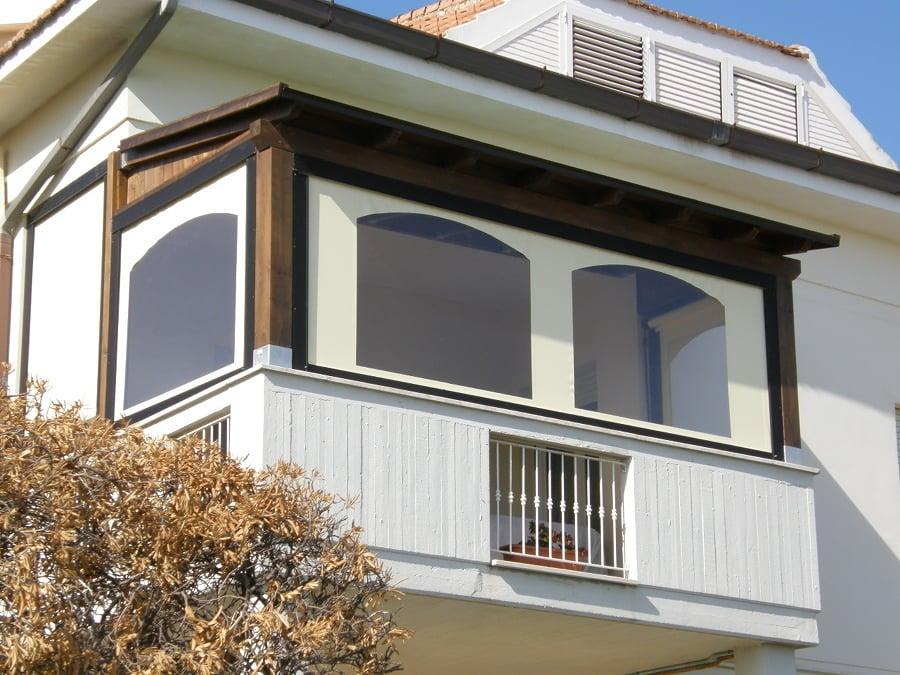 cerramiento balcón blanco