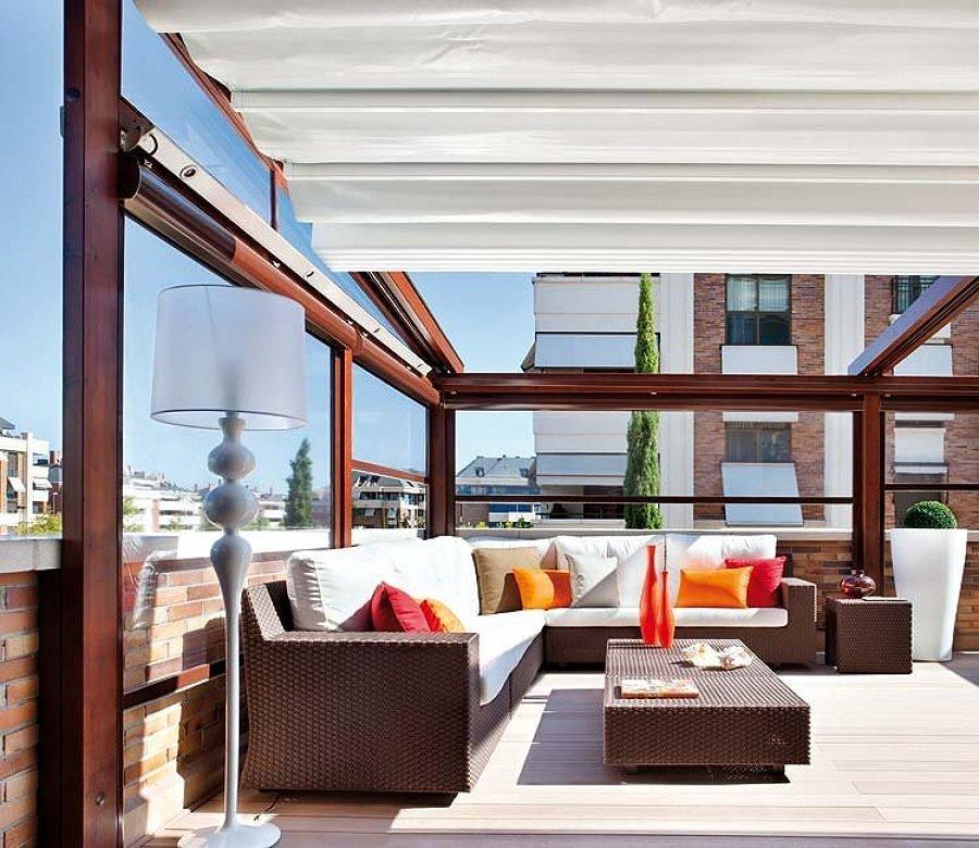 Cierre de terraza