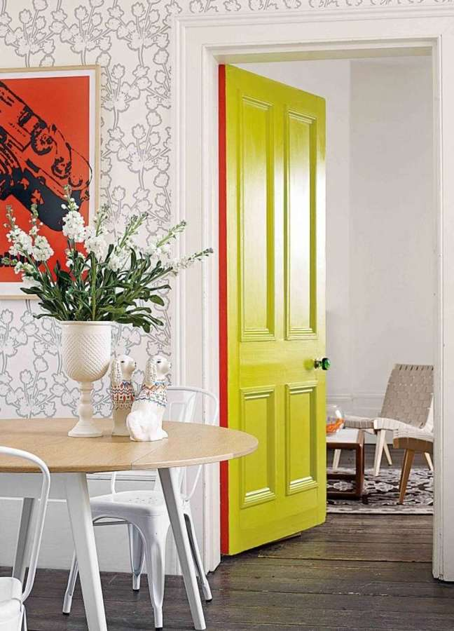 Chalk paint camuflado
