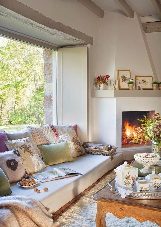 5 tipos de chimenea para aguantar lo que queda de invierno - Chimeneas economicas de lena ...