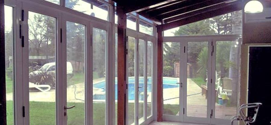 Cierres de terrazas oficinas piscinas ventanas de for Cierres de aluminio para terrazas