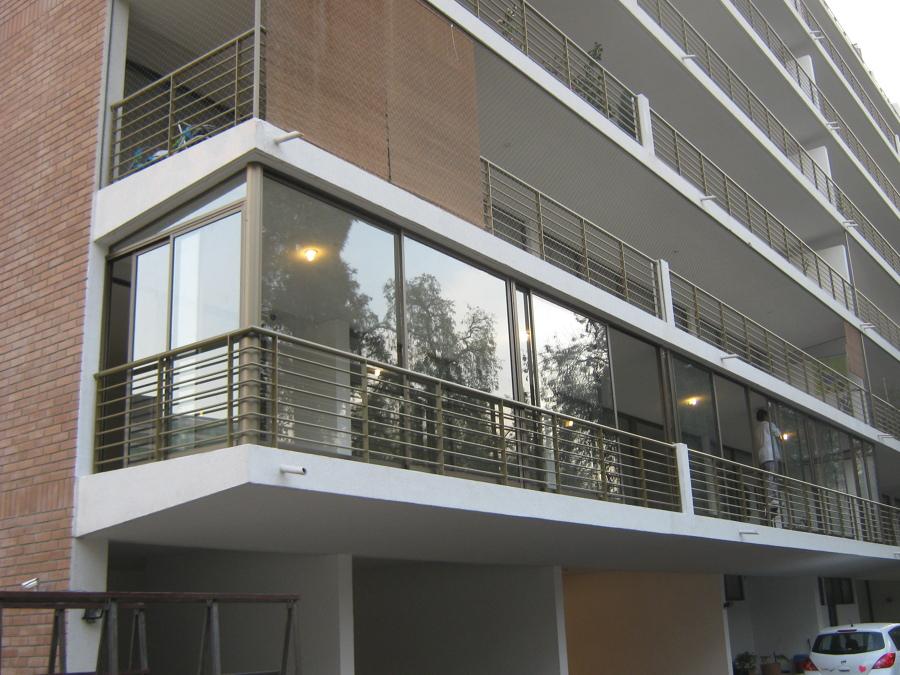 Foto cierre de terraza de aluminios abasil 73832 for Cierres de aluminio para terrazas