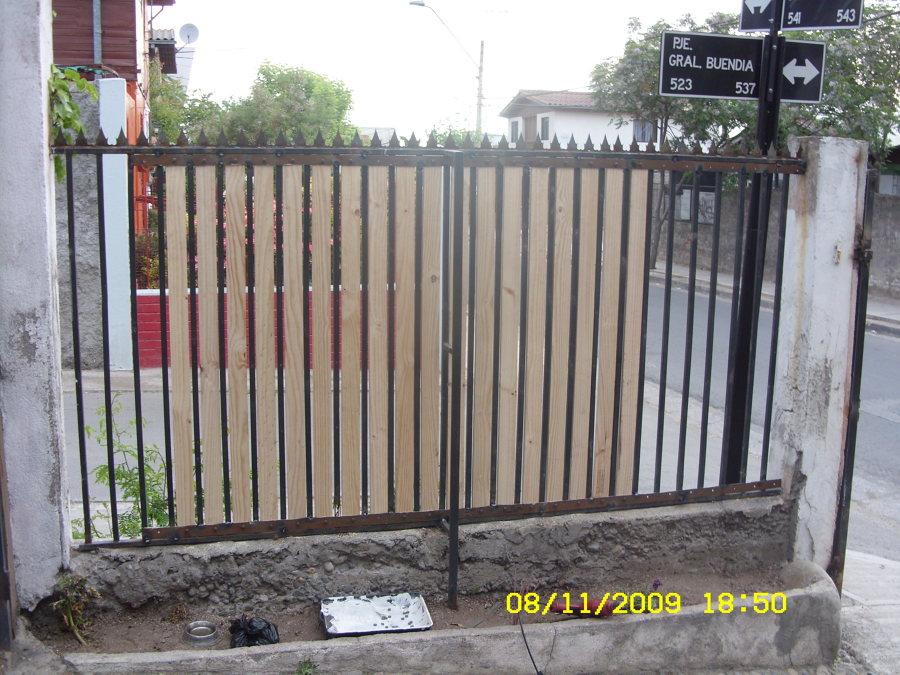 Foto cierres con madera de thanol reparaciones 139760 - Cierres de madera ...