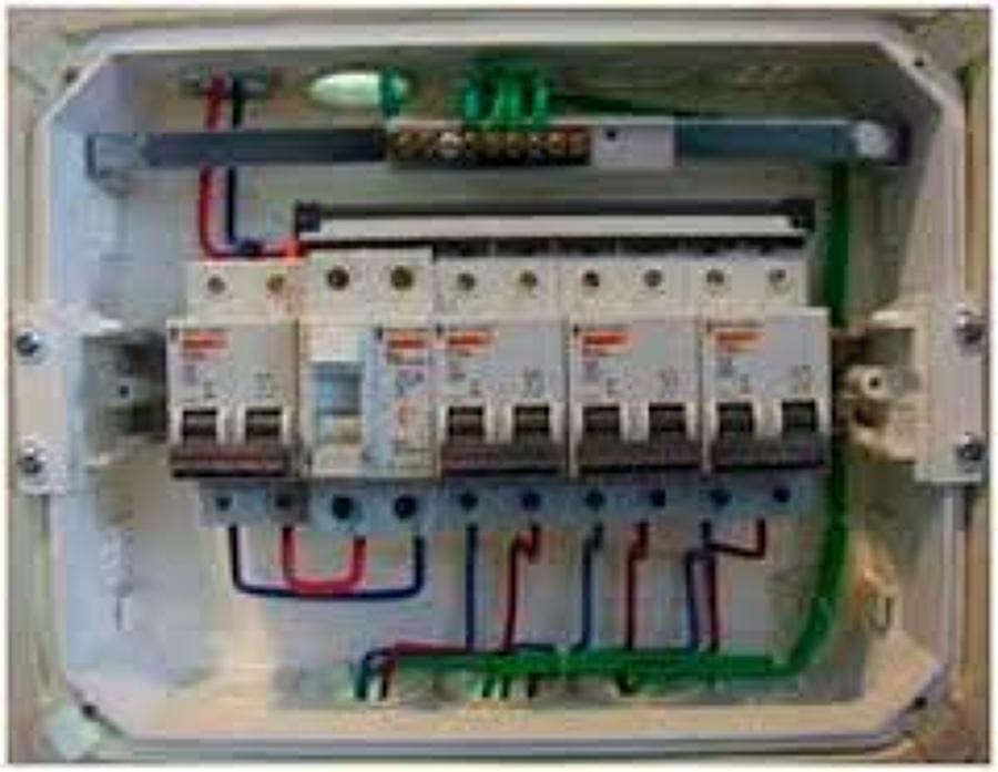 Circuito General : Recableado completo circuito eléctrico domiciliario