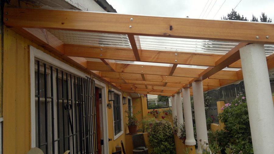 Cobertizo en loncura ideas carpinteros - Como hacer cobertizo de madera ...