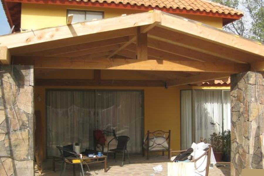 P rgolas y cobertizos ideas construcci n casa for Cobertizos de casas
