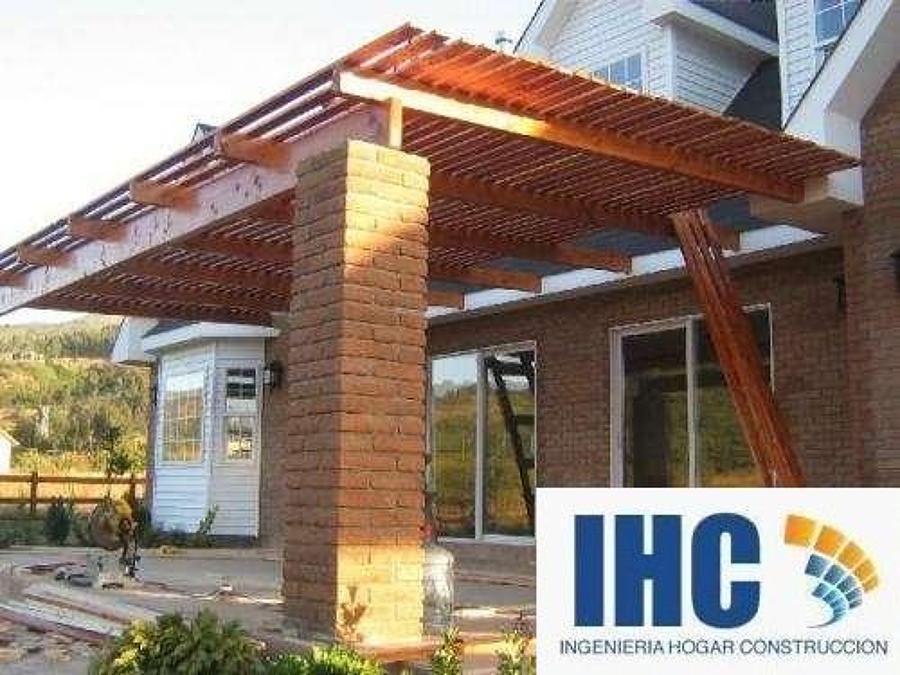 P rgolas y cobertizos ideas construcci n casa - Construccion de pergolas de madera ...