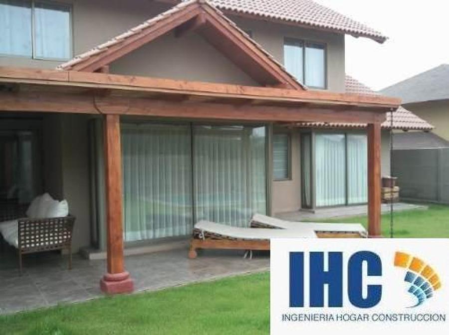 P rgolas y cobertizos ideas construcci n casa for Casas con cobertizos