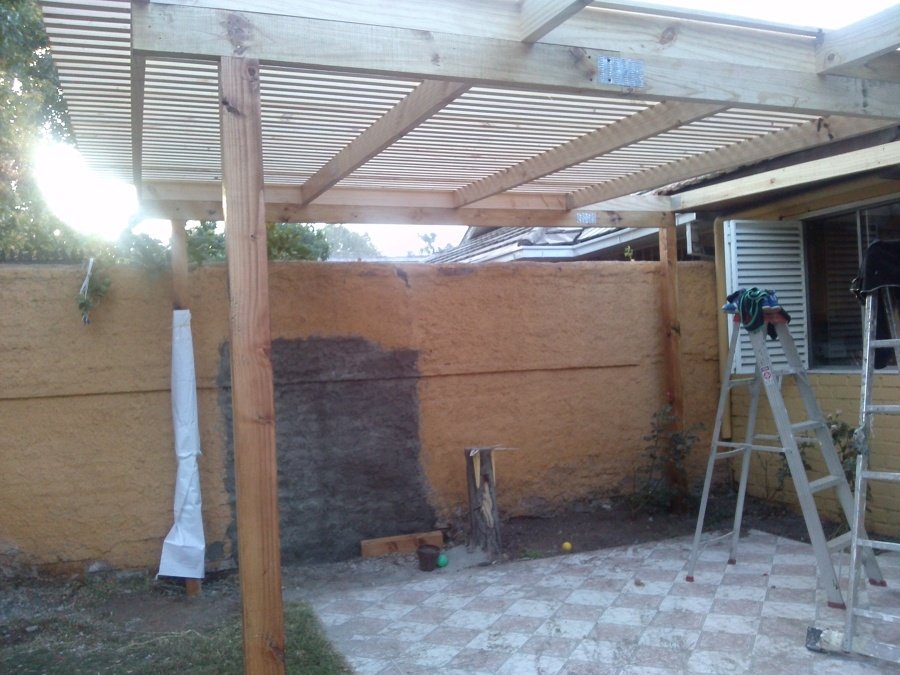 Los gredos ideas carpinteros for Cobertizo de madera tratada