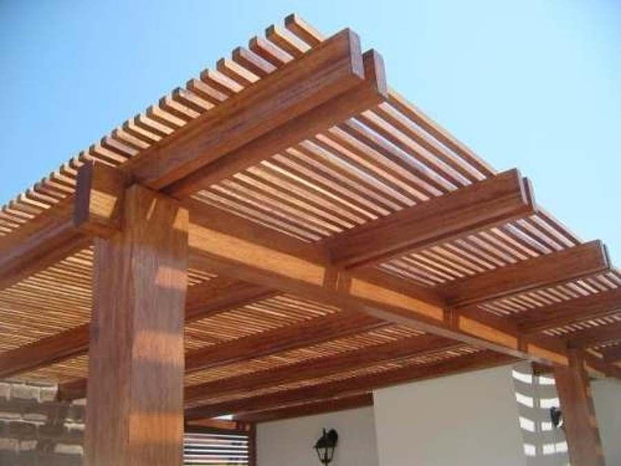 Foto cobertizos rusticos de instalaciones sanitarias y - Precio techo madera ...