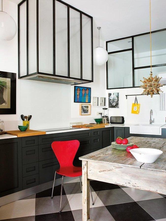 Foto cocina estilo industrial contemporaneo 137944 for Cocinas de estilo industrial