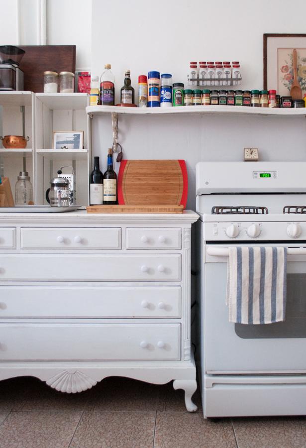 Cocina de diseño retro