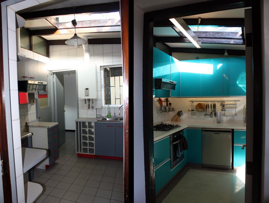 Foto: Cocina: antes y Después de Raffo & Richter Arquitectos ...