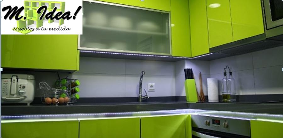 Cocina con luz led ideas remodelaci n cocina - Luz led cocina ...