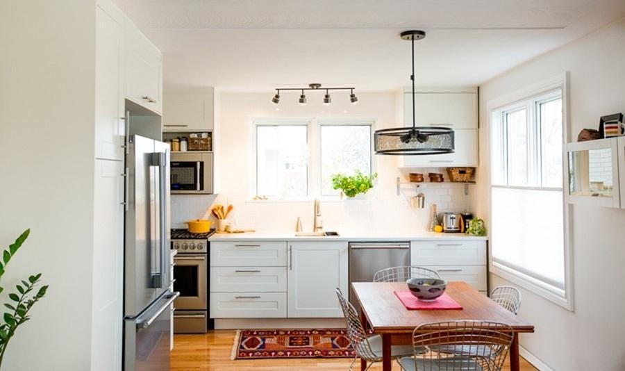Foto cocina con muebles blancos 126186 habitissimo for Muebles cocina chica