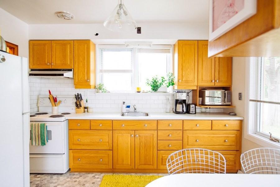 Foto cocina antigua 126185 habitissimo - Cocinas naranjas y blancas ...