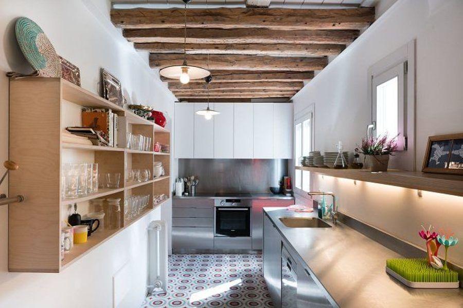 cocina estrecha 1