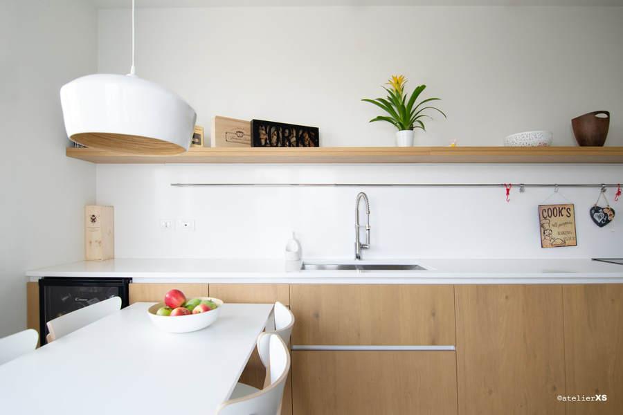 Cocina limpia y ordenada