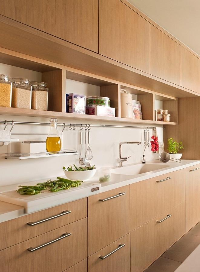 8 Cocinas Pequeñas donde todo tiene su Lugar | Ideas Remodelación Cocina