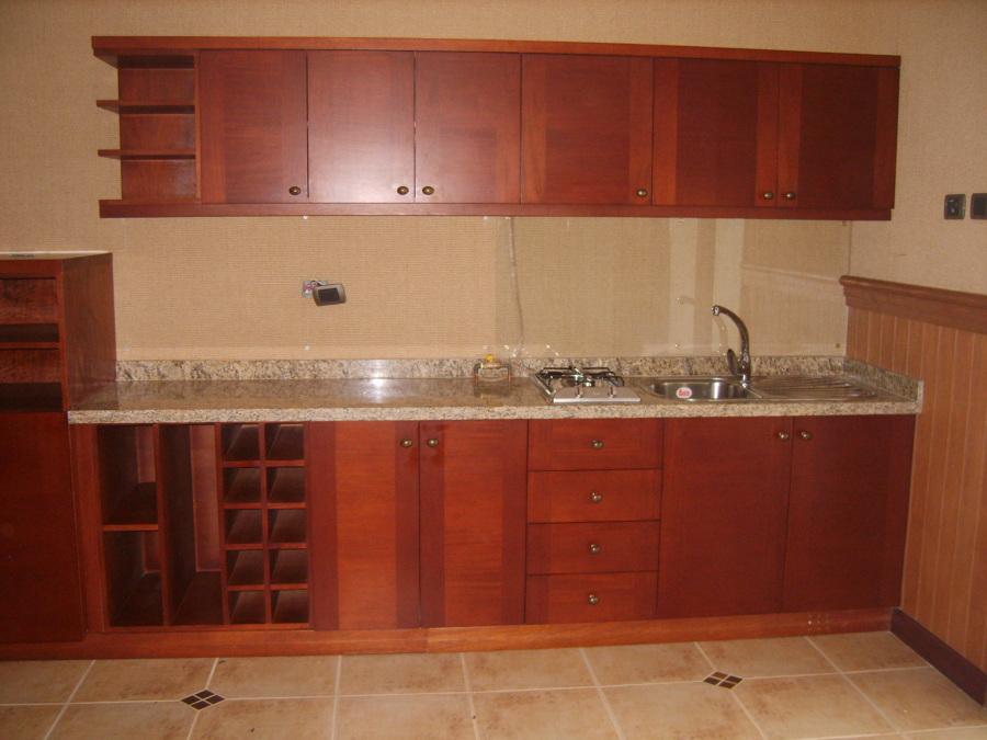 Foto cocina madera natural de m m muebles 65185 for Muebles cocina madera